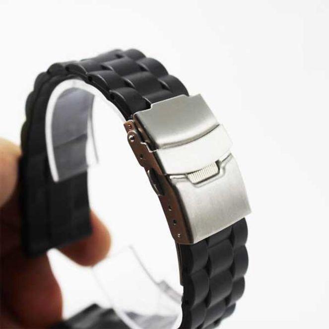 접이식 디버클 실리콘 플라스틱 시계밴드